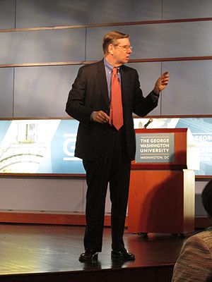 David A. Kessler - Kessler delivers a lecture at George Washington University in October 2013.