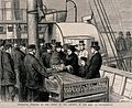David Livingstone's body arrives in Southampton; a delegatio Wellcome V0018861.jpg