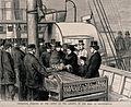 David Livingstone's body arrives in Southampton; a delegatio Wellcome V0018861.jpg