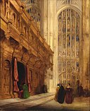 David Roberts - King's College Chapel-Cambridge - 1956.11.48 - Smithsonian American Art Museum.jpg