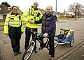 Day 325 - West Midlands Police - Solihull police team help to replace stolen bike (8206238002).jpg