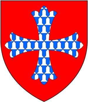 Isabel de Forz, suo jure 8th Countess of Devon - Image: De Forz Arms