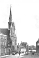 De RK Kerk aan het eind van de Haarlemmerstraat 1859.PNG