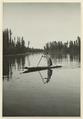De flytande trädgårdarnas stad. En indiankvinna som paddlar på den största kanalen - SMVK - 0307.b.0041.b.tif