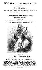 Debrett's Baronetage00