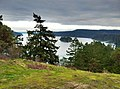 Deception Pass looking east towards Strawberry Island on Puget Sound between Whidbey and Fidalgo Islands - panoramio.jpg