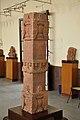 Decorated Pillar - Mediaeval Period - Kankali Tila - ACCN 00-R-35 - Government Museum - Mathura 2013-02-23 5509.JPG