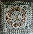 Deer mosaic - Peristyle - Villa Romana del Casale - Italy 2015.JPG