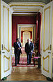 Defense.gov News Photo 100608-F-6655M-004 - Secretary of Defense Robert M. Gates walks with British Defense Secretary Liam Fox in the Lancaster House in London on June 8, 2010.jpg