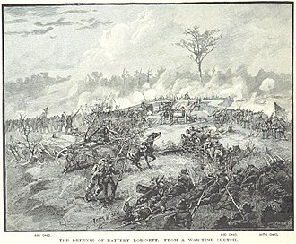Second Battle of Corinth - The defense of Battery Robinett
