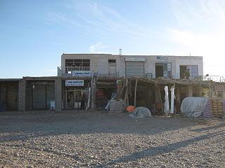 Delaram City in Nimruz Province, Afghanistan