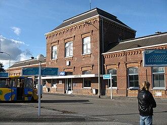 Delfzijl - Delfzijl railway station in 2009