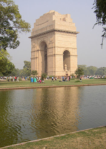 English: India Gate in Delhi, India Deutsch: I...