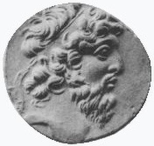 Demetrius II Nicator - Image: Demetrius II, coin, face