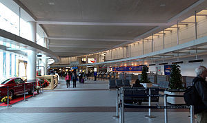 Manchester–Boston Regional Airport - Terminal of Manchester Airport