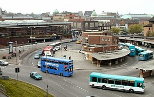 Derby bus station - Previous bus station, 1933-2005