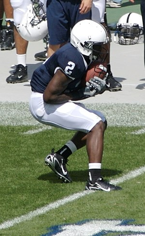Derrick Williams (American football) - Williams during his tenure at Penn State.