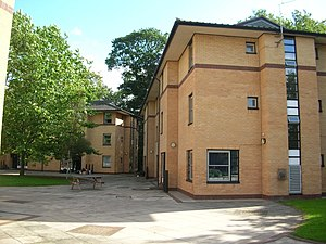 Derwent College, York - Derwent's E and F Blocks
