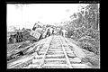 Descarrilamento de um Guindaste de Obra em Trecho da Ferrovia Madeira-Mamoré - 630A, Acervo do Museu Paulista da USP.jpg