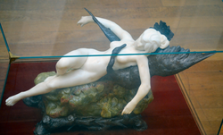 Maurice Ferrary: Leda and the Swan