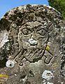Detail of carved headstone, Yalding.JPG