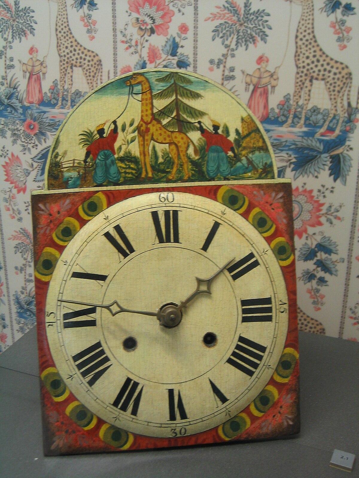 Lackschild uhr wikipedia - Mecanismo para reloj de pared ...
