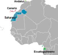 Dialects of Spanish in Africa.png