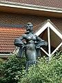 Diana Dors statue, Shaw Ridge Leisure Park, Swindon (geograph 893160).jpg
