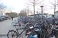 Die Fahrräder beim Bahnhof Göttingen (Bikes - Train Station Goettingen).JPG