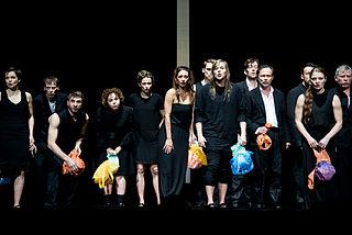 <i>Die Schutzbefohlenen</i> play by Elfriede Jelinek