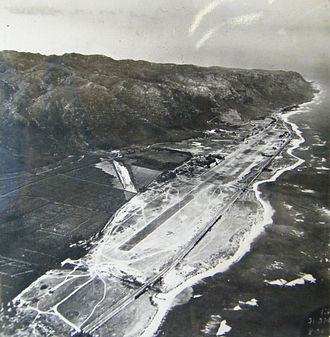 Dillingham Airfield - Dillingham Airfield soon after construction during World War II