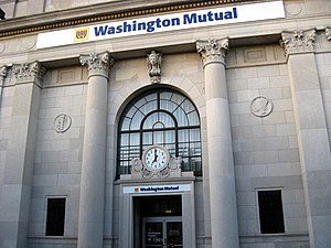 Washington Mutual - Former Dime Savings Bank branch in Brooklyn, New York