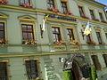 Din anul 1520 Fosta Primărie Sighişoara, actualul hotel Sighişoara.jpg