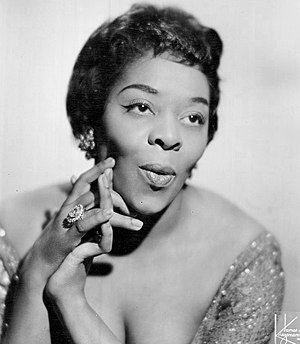 DuSable High School - Image: Dinah Washington 1962