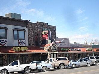 Lyon County, Nevada - Dini's Lucky Club in Yerington