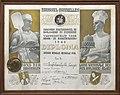 Diploma Inghelram, Onbekend, Bakkerijmuseum Veurne, Diploma, 12399.jpg