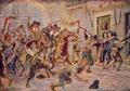 Distúrbios de Afonso VI em Lisboa (Roque Gameiro, Quadros da História de Portugal, 1917).png