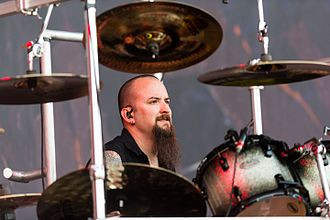 Mike Wengren - Wengren playing with Disturbed, 3 June 2016