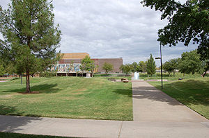 Dixie State University - Part of the campus of Dixie State University
