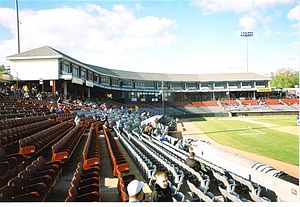 Senator Thomas J. Dodd Memorial Stadium - Image: Dodd Stadium RF