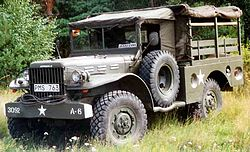 Dodge WC 51 Weapon Carrier