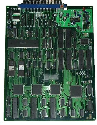 DoDonPachi - DoDonPachi arcade PCB