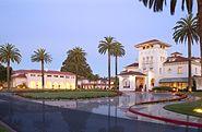 Dolce Hayes Mansion at dusk
