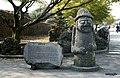 Dolhareubang, Sangumburi, Jeju (돌하르방, 제주 산굼부리) - panoramio.jpg