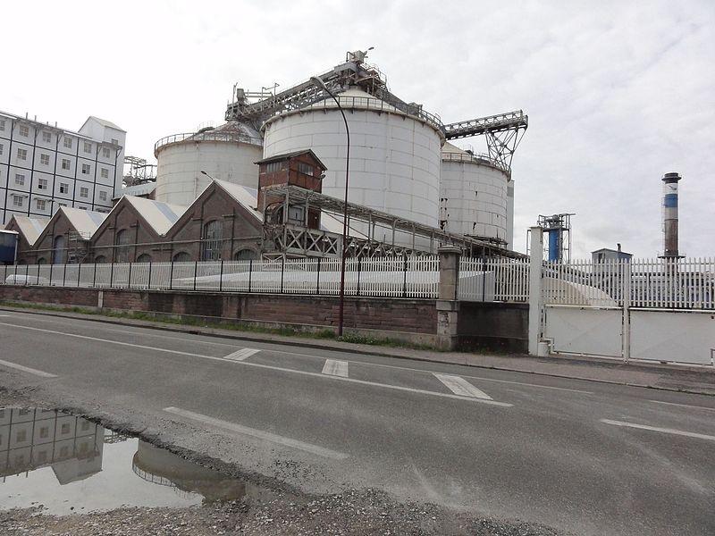 Dombasle-sur-Meurthe (M-et-M) complexe industriel Solvay