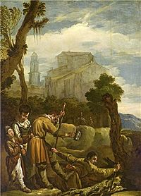 Domenico Fetti (1621–22) The Parable of the Blind Leading the Blind.jpg