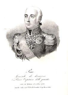 Domenico Pino Italian General in Napoleon's Grande Armée