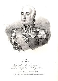 Italian General in Napoleon's Grande Armée
