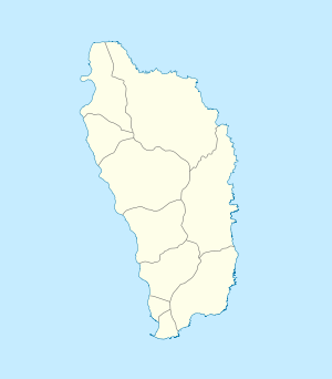 Roseau is located in Dominica