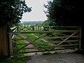 Double gates overlook Dedham Vale - geograph.org.uk - 1165902.jpg